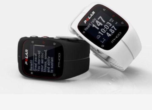 Sport GPS Uhr Polar M400 Pulsuhr schwarz