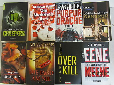 56 Bücher Taschenbücher Krimi Thriller Psychothriller Kriminalromane Top Titel