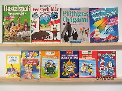 78 Bücher Bastelbücher Bastelhefte Fensterbilder Origami Window Color basteln