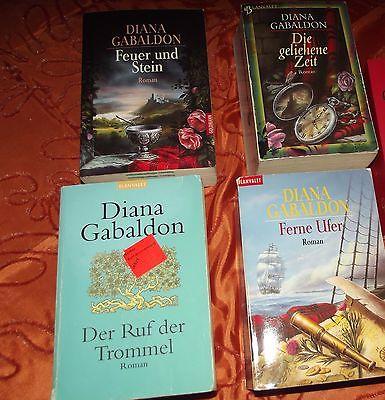 Diana Gabaldon Highland Saga 1-4 - OHNE Flammende Kreuz!!!!!