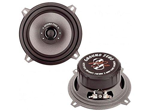 Ground Zero Titanium GZTF 13 TX Auto Lautsprecher Koax-System 220 Watt für BMW 5er (E39) 07/95 - 06/03 Einbauort vorne :Seitenverkleidung unten / hinten : --