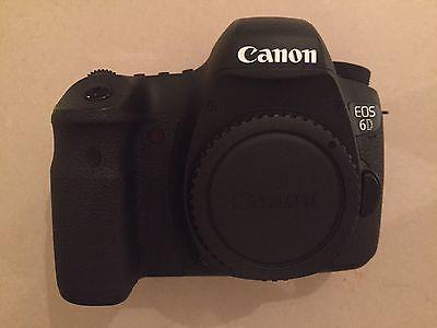 Canon EOS 6D - schwarz, nur Gehäuse, Vollformat, 20,2 MP