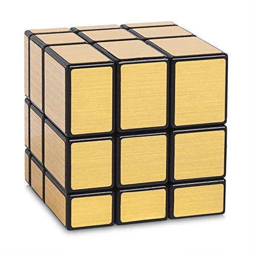 Mirror Cube Gold - 3x3 Zauberwürfel Variante - Cubikon Typ Cheeky Sheep