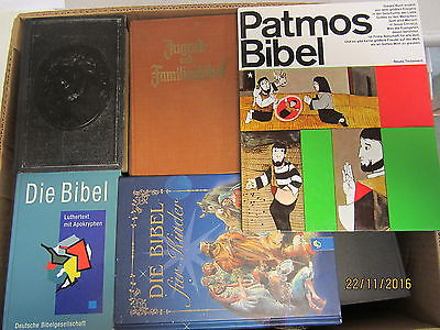 45 Bibeln Kinderbibeln Bibel Kinderbibel  teilweise antiquarisch