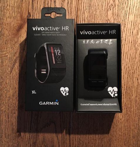 Garmin Vivoactive Hr XL - Wasserdicht, GPS, Smartwatch
