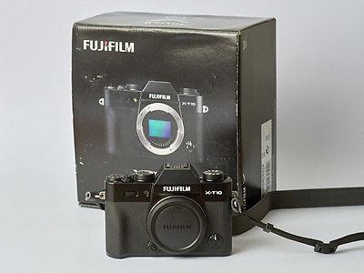 - Fujifilm X-T10 OVP -