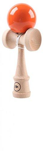 PLAY Kendama Pro K 2014 - Holz-Kugelfangspiel in Profi-Qualität, orange