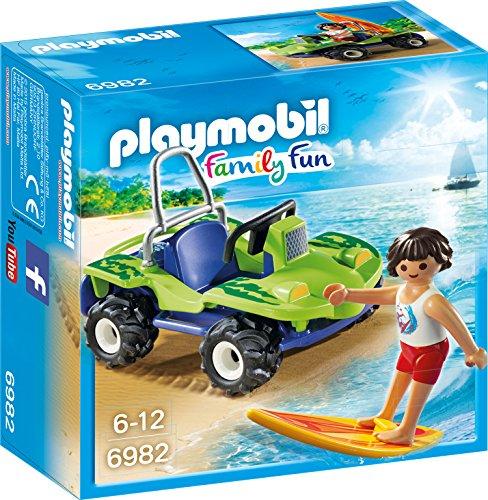 PLAYMOBIL 6982 - Surfer mit Strandbuggy, Spielzeugfigur