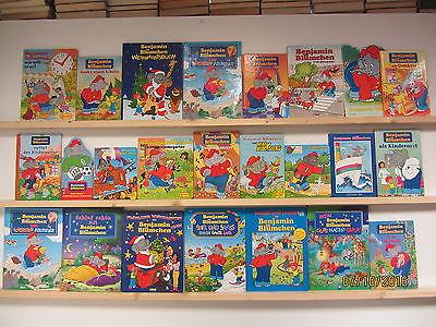Benjamin Blümchen 24 Bücher Kinderbücher Bilderbücher Kleinkinderbücher