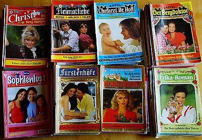 142 Romane - Bergromane  Liebesromane Arztromane Fürstenromane usw.