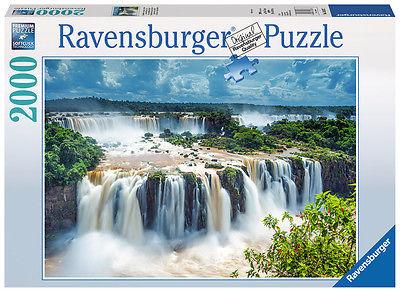 2000 Teile Ravensburger Puzzle Wasserfälle von Iguazu, Brasilien 16607