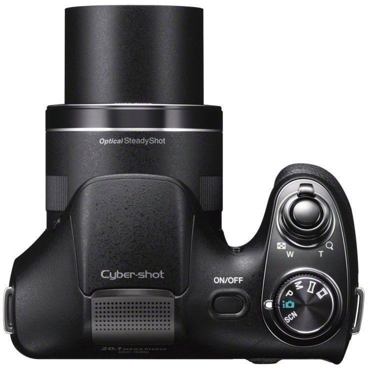 Sony Cyber-shot DSC-H300 20,1 MP Digitalkamera - Schwarz