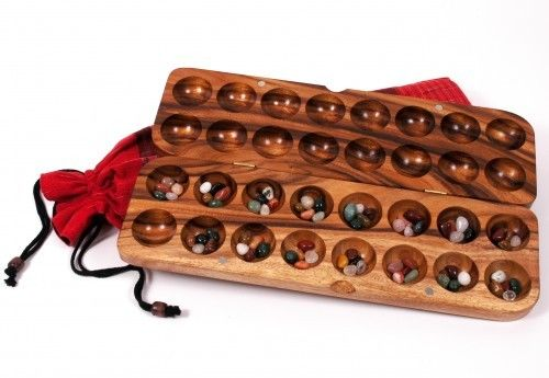 Hus Bao Mancala Steinchenspiel Bohnenspiel*Muschelspiel