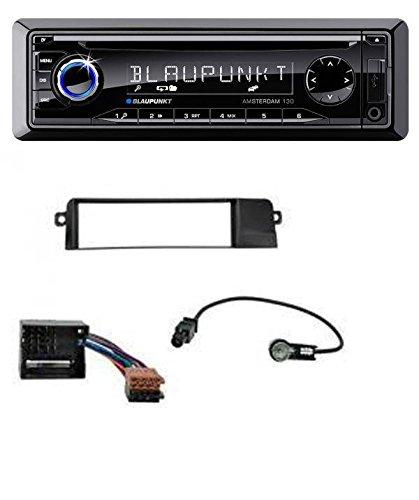 Blaupunkt Amsterdam 130 CD MP3 USB AUX Autoradio für BMW 3er E46 (Profiversion, Quadlock)