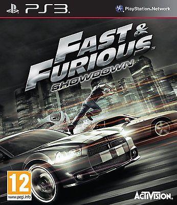 PS3 Spiel Fast und & the Furious: Showdown NEU Sony Playstation 3