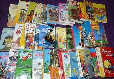 65 HC & TB Kinderbücher Jugendbücher Junge Leser Sammlung Paket AB10