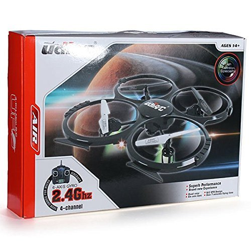UDI U818A - RC UFO mit Camera, 3D Quadrocopter - Drohne, 2.4 GHz