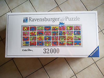 Ravensburger ** Keith Haring ** 32000 Teile Puzzle  ** sehr selten ** Neu/OVP