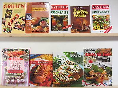 45 Bücher Kochbücher Dr. Oetker Kochbücher nationale und Internationale Küche