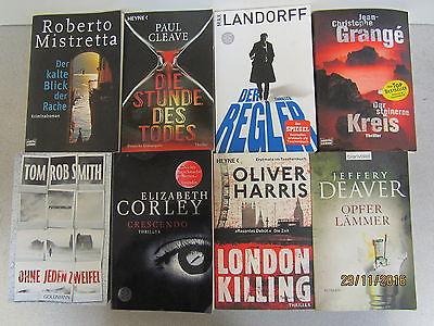 53  Bücher Taschenbücher Krimi Thriller Psychothriller Top Titel Bestseller