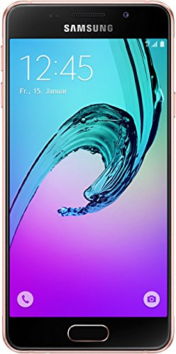 Samsung Galaxy A3 (2016) Smartphone (4,7 Zoll (12,04 cm) Touch-Display, 16 GB Speicher, Android 5.1) pink-gold