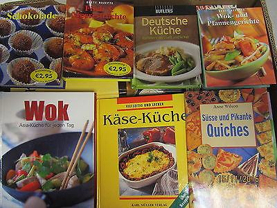 48 Bücher Kochbücher nationale und internationale Küche