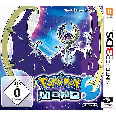 3DS Pokemon Mond - Nintendo 3DS