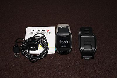 TomTom - MULTI-SPORT - GPS Sportuhr - incl. Radhalterung