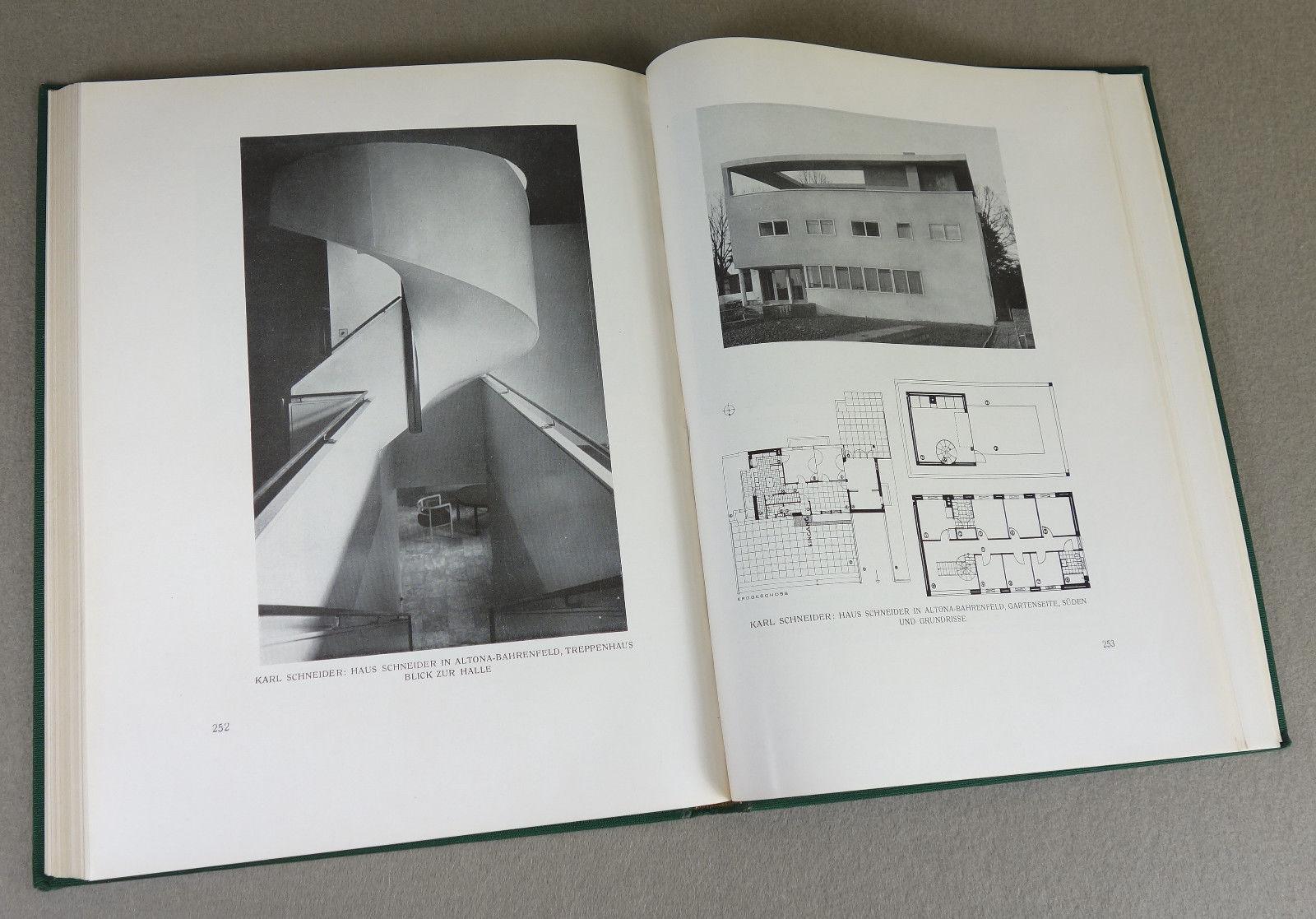 1928 - ARCHITEKTUR - Neues Bauen - BAUHAUS Design Möbel Innenarchitektur SELTEN