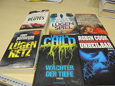 Bücherpaket Thriller
