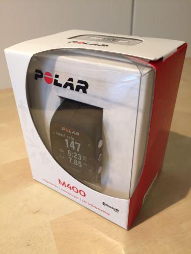 Polar M400 OVP Trainingsuhr GPS Tracking Herzfrequenzzähler Pulsuhr
