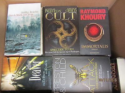 37 Bücher Romane  Krimi Thriller Psychothriller Top Titel Bestseller Paket 1