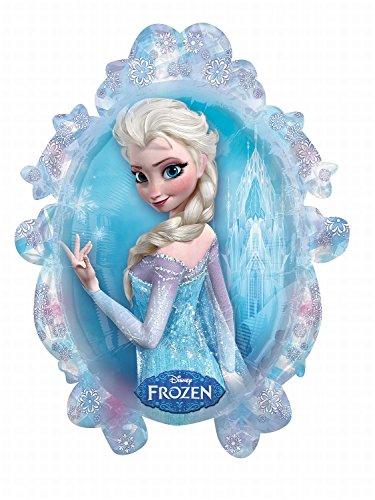 Anagram 2816201 - Party und Dekoration - Folienballon SuperShape - Disney Frozen - Elsa / Anna, circa 63 x 78 cm