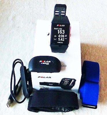 Polar V800  GPS mit HR 7 Bluetooth Herzfrequenzsensor