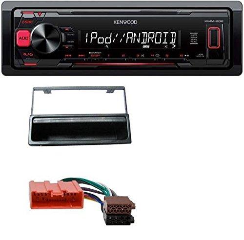 Kenwood KMM-202 MP3 USB AUX Autoradio für Mazda MX-5, 626F, 323L, 323K