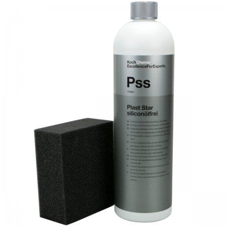 Koch Chemie Plast Star siliconölfrei Kunststoffpflege außen 1 Liter inkl. Schwamm