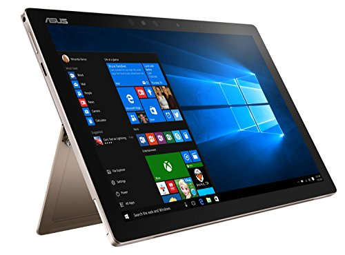 Asus Transformer 3 Pro T303UA-GN063T 32,0cm (12,6 Zoll WQHD+, Touch) Convertible Tablet-PC (Intel Core i7-6500U, 8GB RAM, 256GB SSD, Intel HD-Gra?k, Windows 10 Home) gold