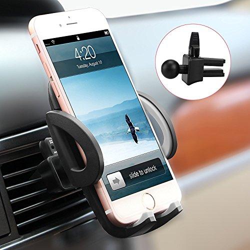 Avolare Handyhalterung Halter Auto Lüftung Lüftungsschlitz Belüftung Universale Autohalterung Phone Halter [einzigartiges Design, Hohe Qualität ] für iPhone,Samusung,Huawei,LG und mehr