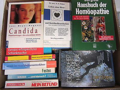 45 Bücher Gesundheit Medizin Naturheilkunde Naturmedizin Selbstheilung Diagnose