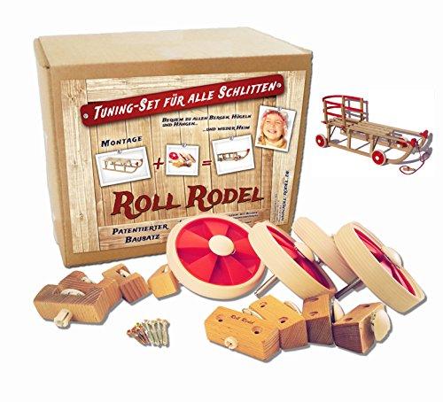 Roll Rodel Bausatz - Tuning Set für alle Holzschlitten