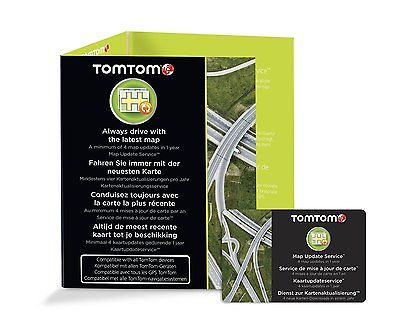 TomTom 1 Jahr Kartenupdate für alle TomTom Navigationsgeräte