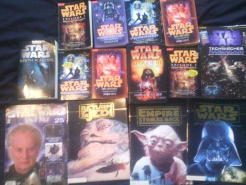 Star Wars Bücher,Bücherpaket,14 Teile
