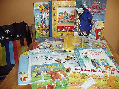 13 Kinderbücher Bücher Buchpaket * Liste * 4 kg Lesestoff Bilderbücher  Vorlesen
