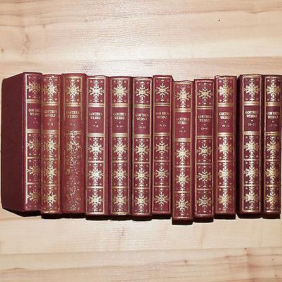 Goethe Bücher Paket Buch Sammlung Posten Goethes Werke 1-24 Bände komplett
