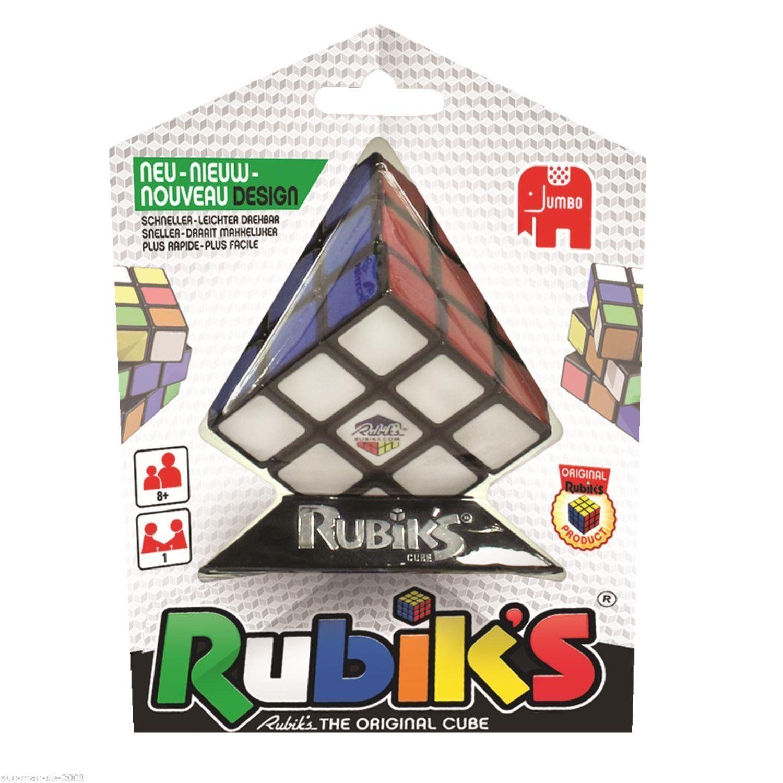 JUMBO Original Rubik's CUBE Zauberwürfel Zauber Würfel 3x3 NEUE VERSION 26Steine