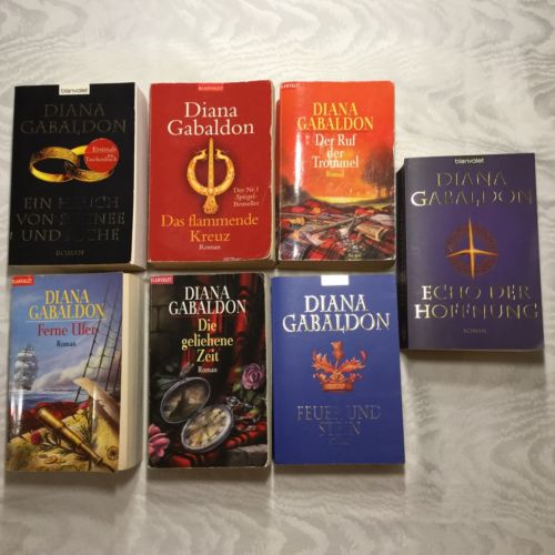 Diana Gabaldon Highland Saga Outlander Band 1-7 Taschenbücher