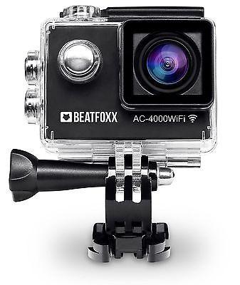 Kompakte Full HD Unterwasser Kamera ideal für Fahrrad, Motorrad und Tauchsport