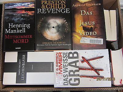 31  Bücher Romane  Krimi Thriller Psychothriller Top Titel Bestseller Paket 1