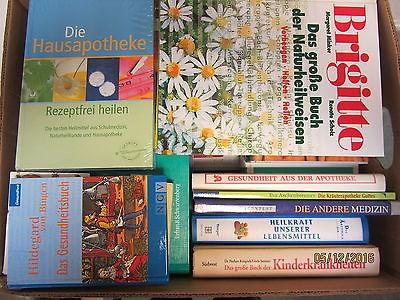 51  Bücher Gesundheit Medizin Naturheilkunde Naturmedizin Selbstheilung Diagnose