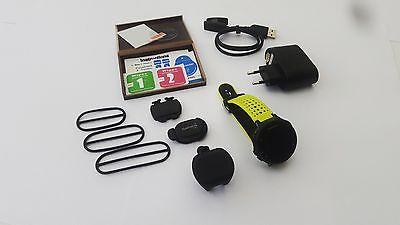 Garmin Forerunner 235 mit Herzfrequenzmessung am Handgelenk incl Fahrradsensoren